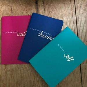 Other - Set of 3 Lined Mini Notebooks